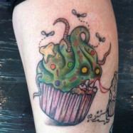 Zombie-Cupcake-Tattoo-Design