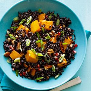 Whole grain salads; Jan'12; Quinoa black rice; FS=Kevin Crafts