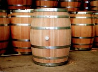 Oak-wine-barrel