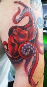 Amazing-Octopus-Tattoo-red arm