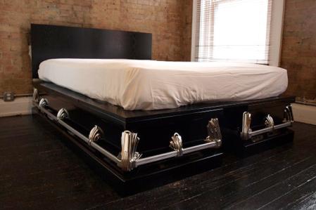 casket-bed