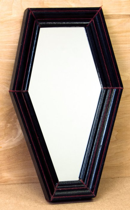 coffin mirror
