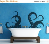 octo tentacle decal